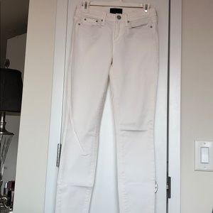 """Vince """"Dylan"""" Skinny White Pant: Size 26"""